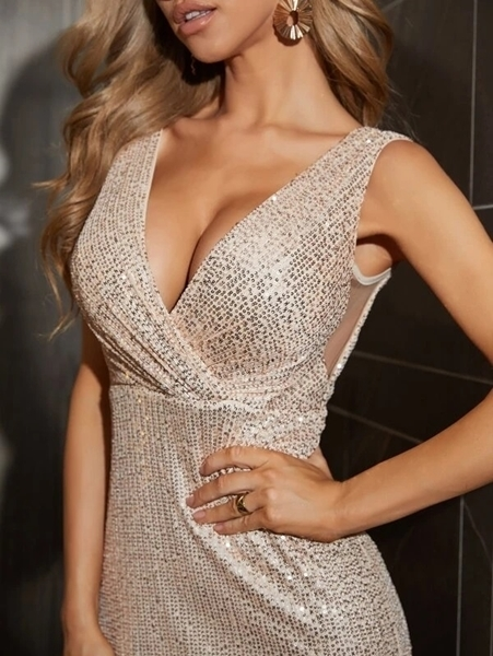 Sequin maxi Occasion Dresses | Occasion Long Formal Dresses Woman