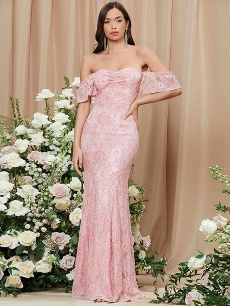 Lace maxi Occasion Dresses | Occasion Long Formal Dresses Woman