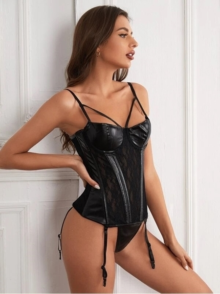Sexy PU Lingerie Online   PU Lingerie For Woman online