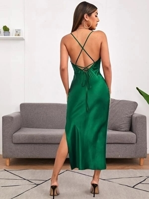 Sexy Satin Formal  Dresses Woman | Occasion Formal Dresses Woman