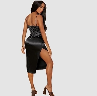 Satin Dresses Woman | Occasion Formal Dresses Woman Sexy